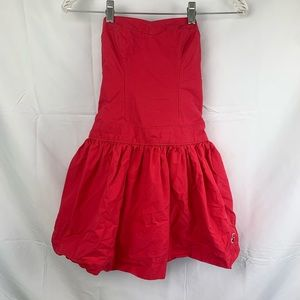 Strapless tube Hollister dress size xs